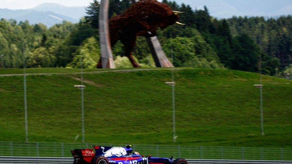 Carlos Sainz Jnr, Toro Rosso, Red Bull Ring, 2017