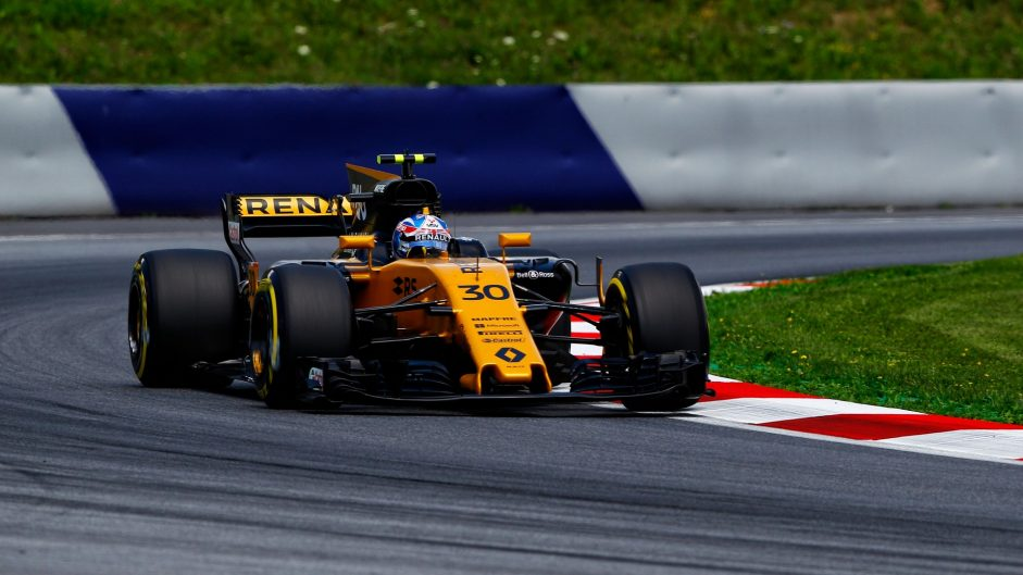 Jolyon Palmer, Renault, Red Bull Ring, 2017