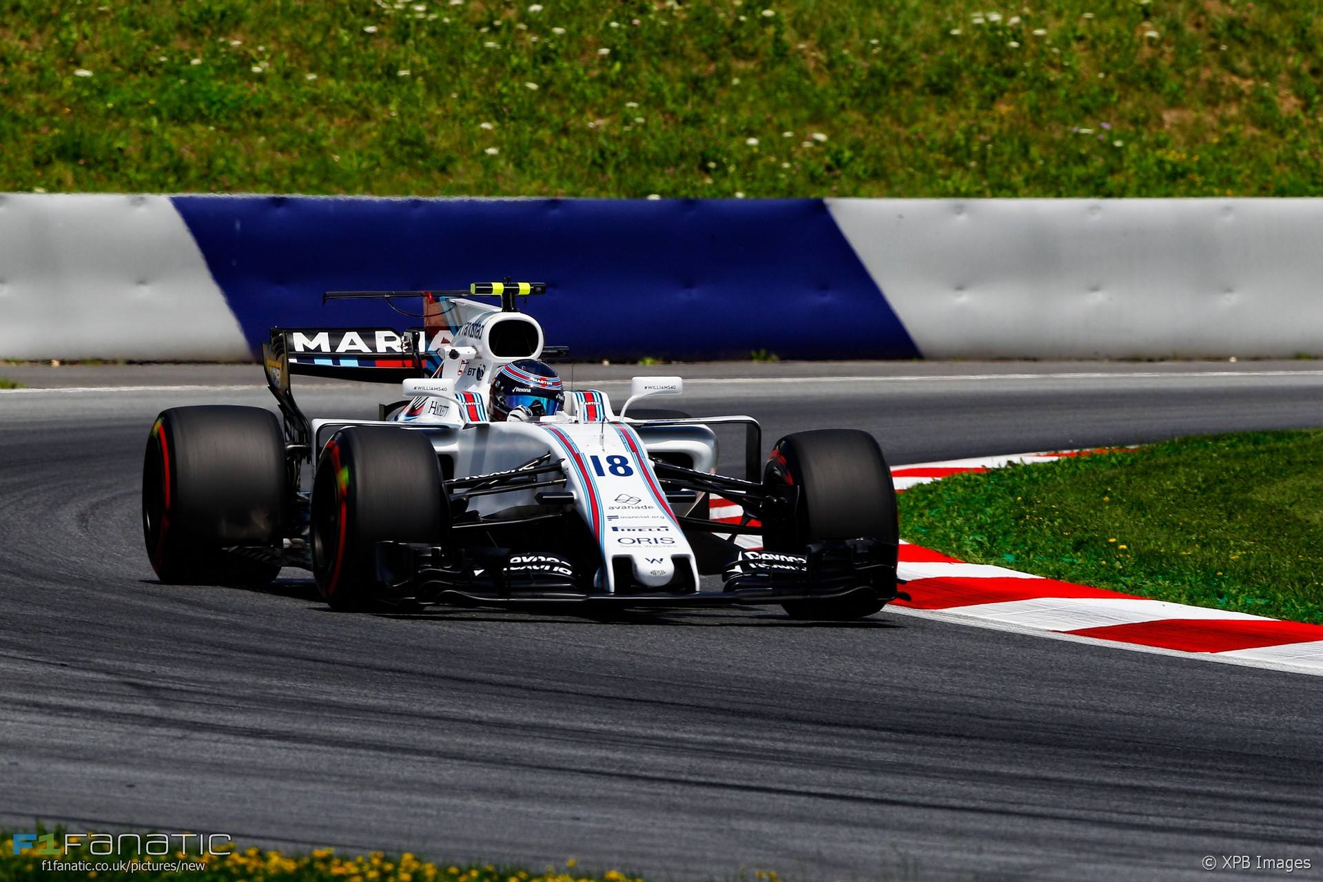 Lance Stroll, Williams, Red Bull Ring, 2017