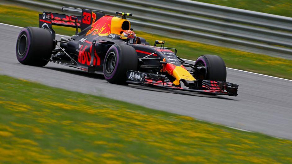 Max Verstappen, Red Bull, Red Bull Ring, 2017