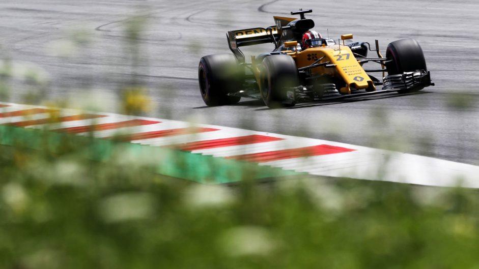 Nico Hulkenberg, Renault, Red Bull Ring, 2017