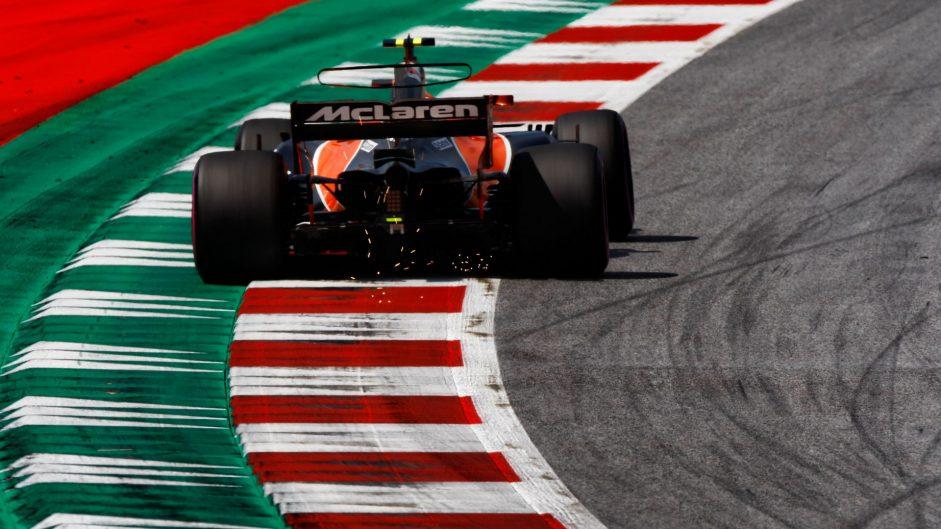 Stoffel Vandoorne, McLaren, Red Bull Ring, 2017