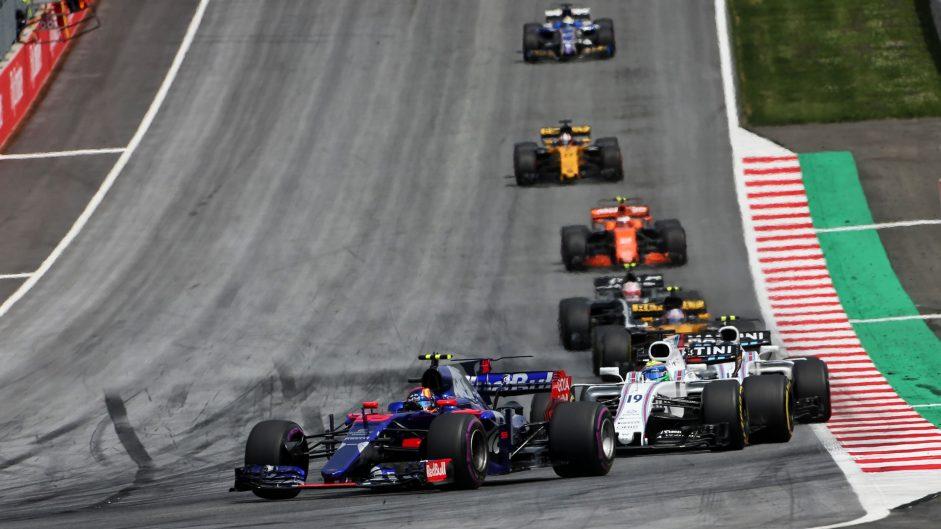 Carlos Sainz Jnr, Toro Rosso, Red Bull Ring, 2017