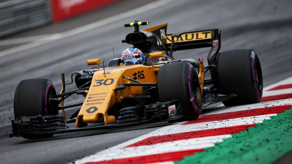 Jolyon Palmer, Renault, Red Bull Ring, 2017