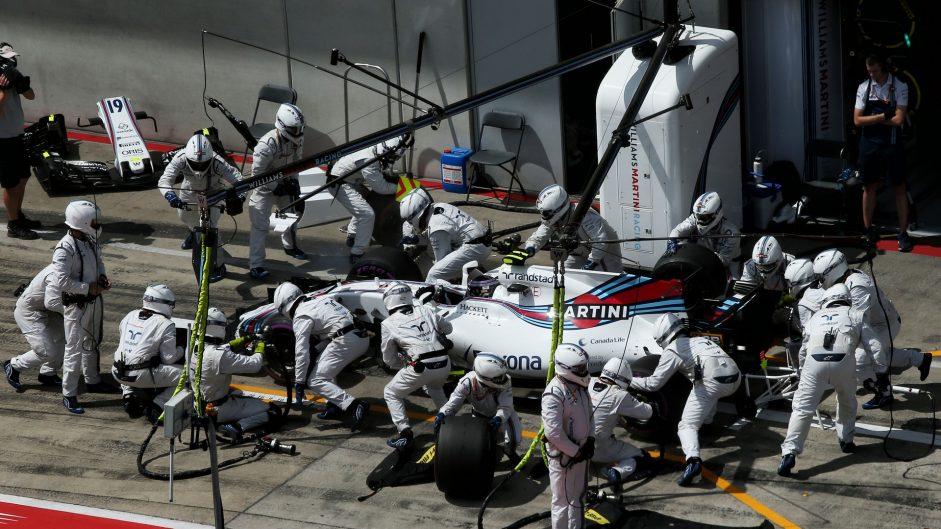 Lance Stroll, Williams, Red Bull Ring, 2017