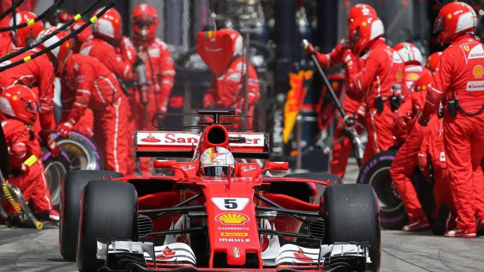 Sebastian Vettel, Ferrari, Red Bull Ring, 2017