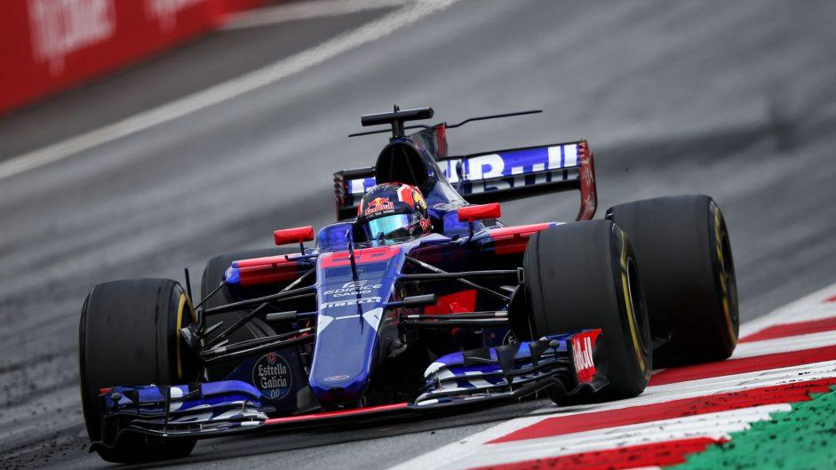 Daniil Kvyat, Toro Rosso, Red Bull Ring, 2017