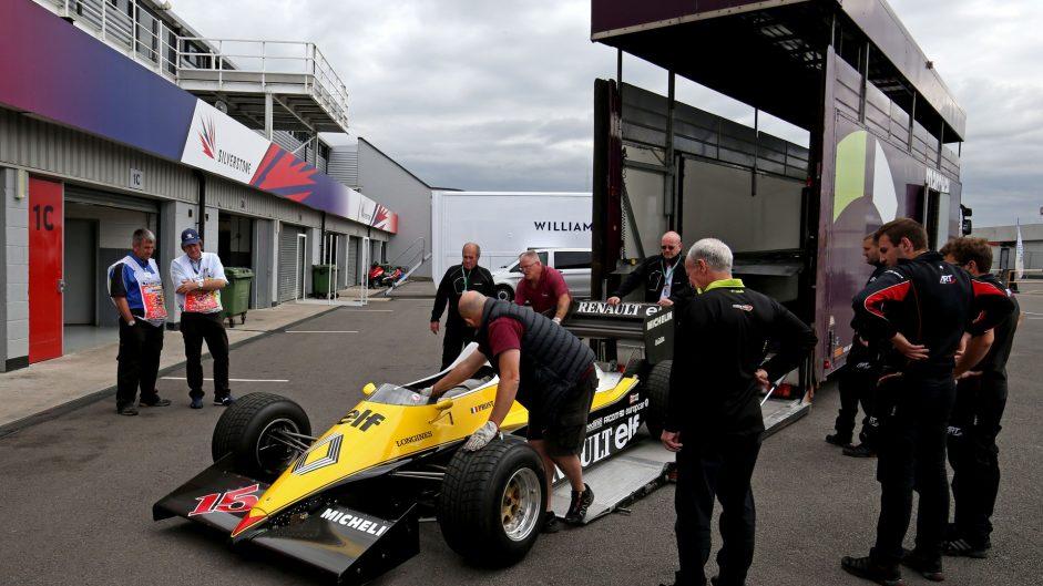 Renault RE40, Silverstone, 2017