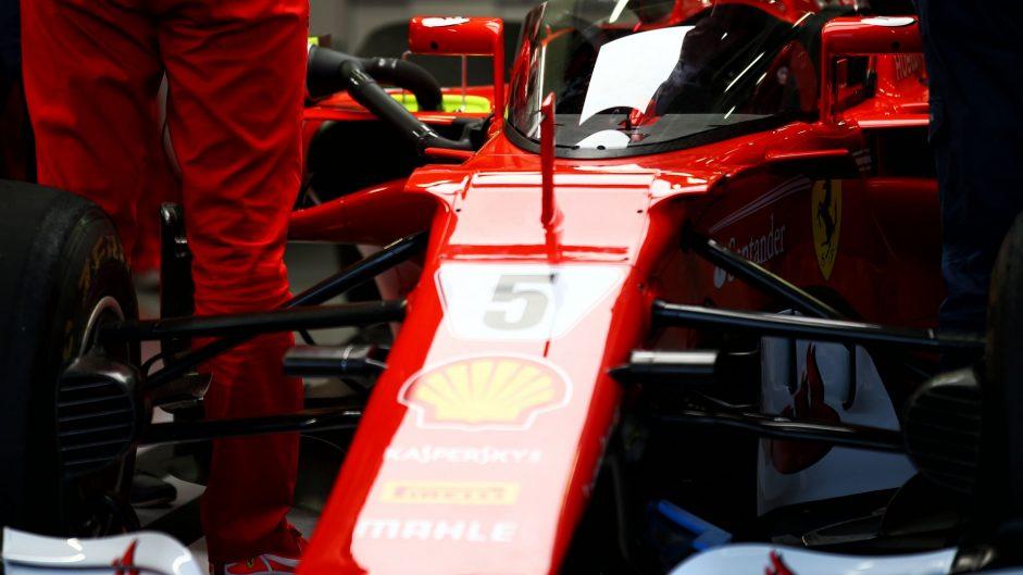 Shield, Ferrari SF70H, Silverstone, 2017