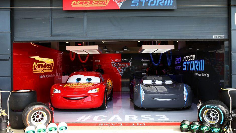 Cars 3, Silverstone, 2017