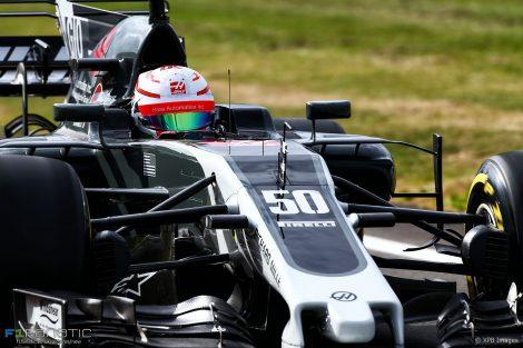 Antonio Giovinazzi, Haas, Silverstone, 2017