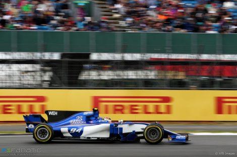 Pascal Wehrlein, Sauber, Silverstone, 2017