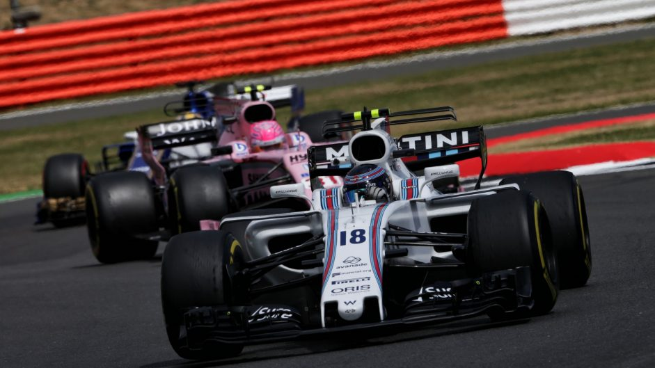 Lance Stroll, Williams, Silverstone, 2017