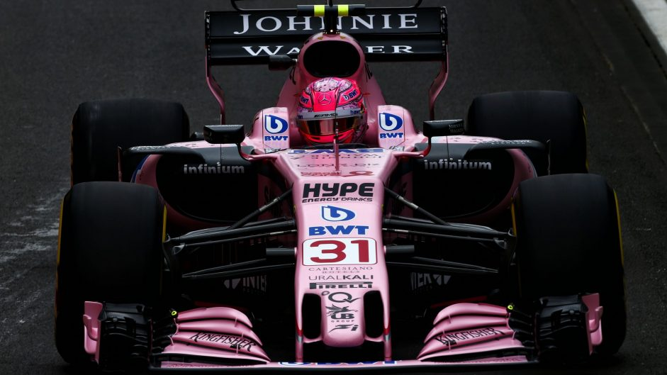 Esteban Ocon, Force India, Red Bull Ring, 2017