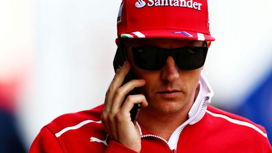 Kimi Raikkonen, Ferrari, Red Bull Ring, 2017
