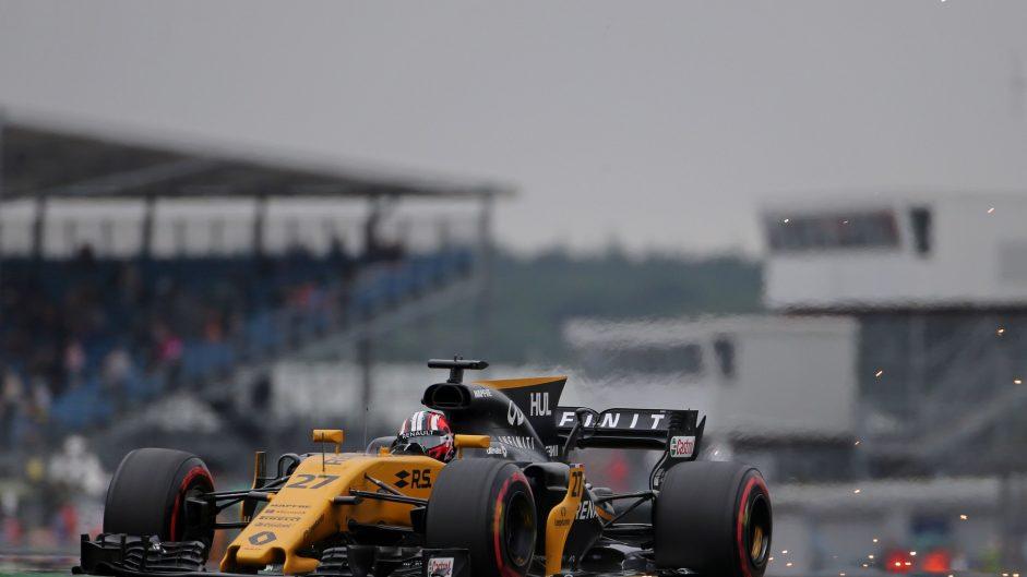 Nico Hulkenberg, Renault, Silverstone, 2017