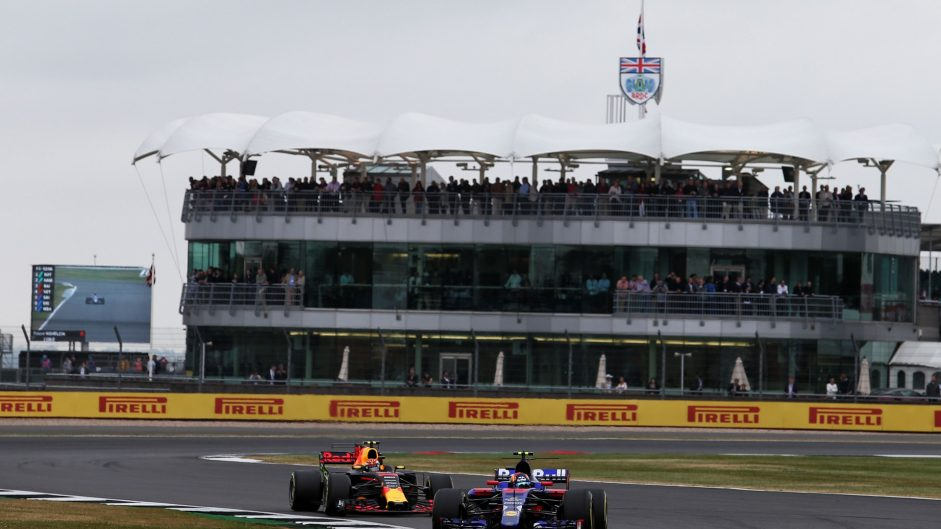 Carlos Sainz Jnr, Toro Rosso, Silverstone, 2017