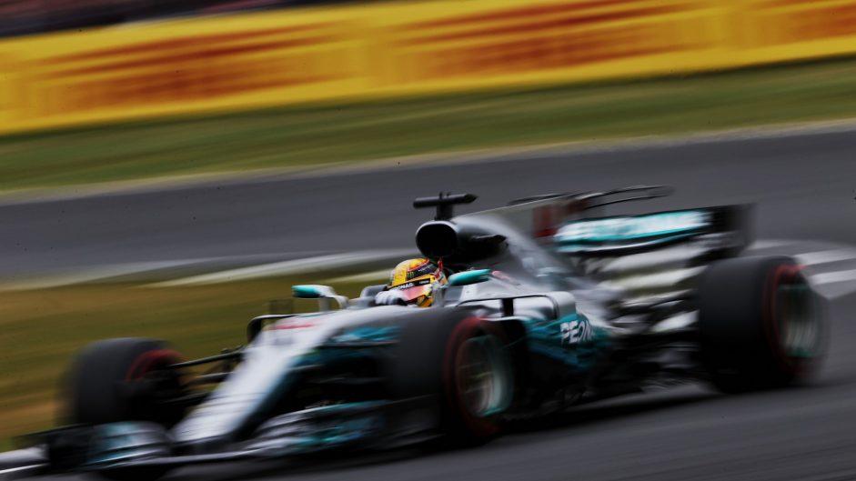 2017 British Grand Prix grid