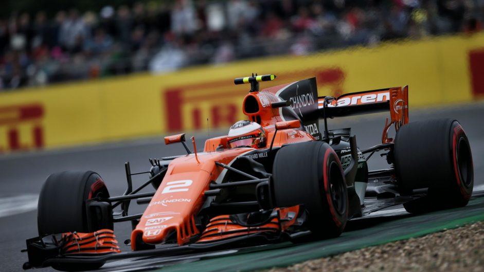Stoffel Vandoorne, McLaren, Silverstone, 2017