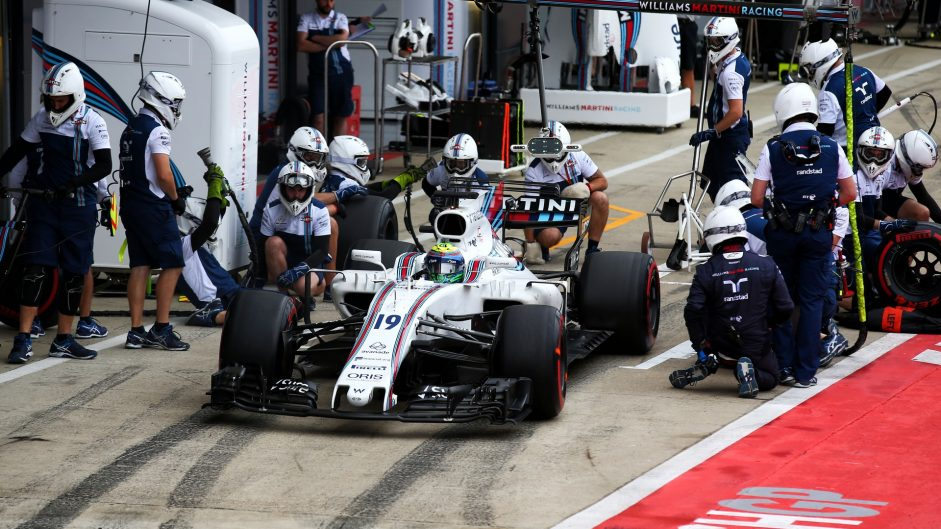 Felipe Massa, Williams, Silverstone, 2017
