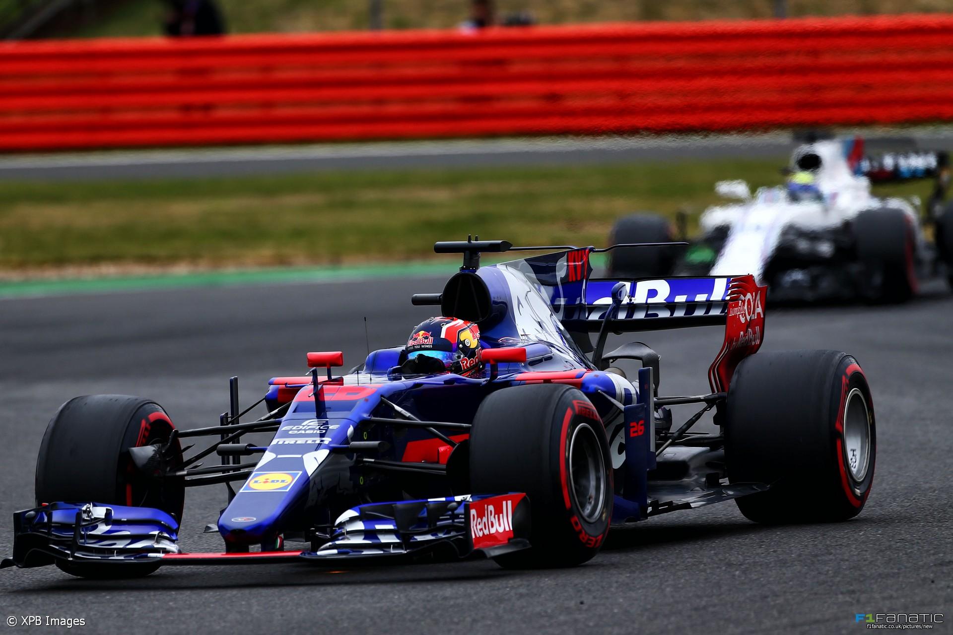 Daniil Kvyat, Toro Rosso, Silverstone, 2017