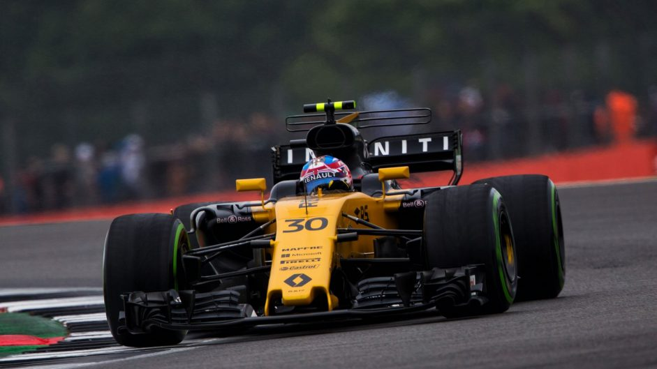 Palmer 'gutted' after formation lap hydraulic failure