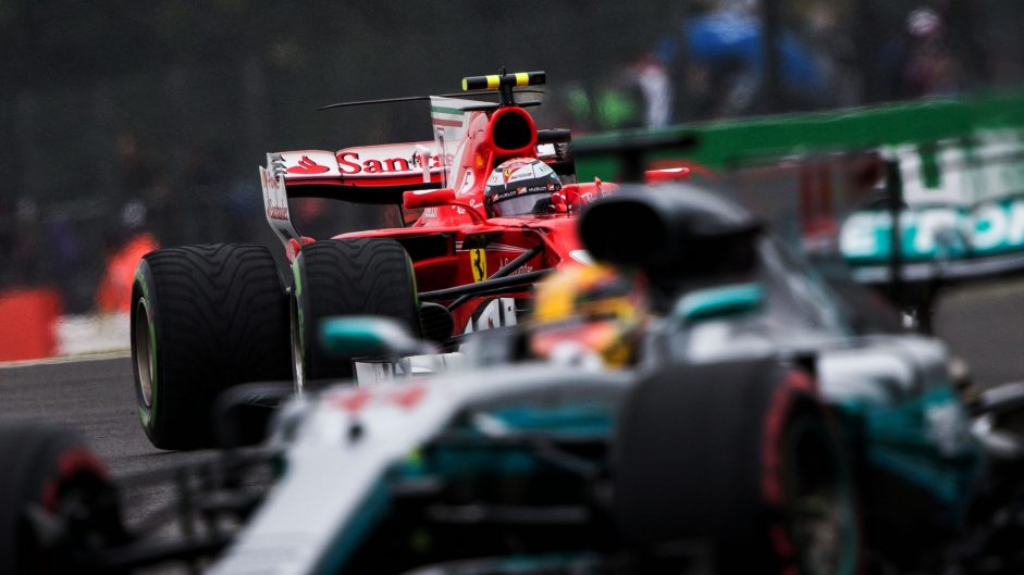 Hamilton faces Ferrari threat to win four-in-a-row at home