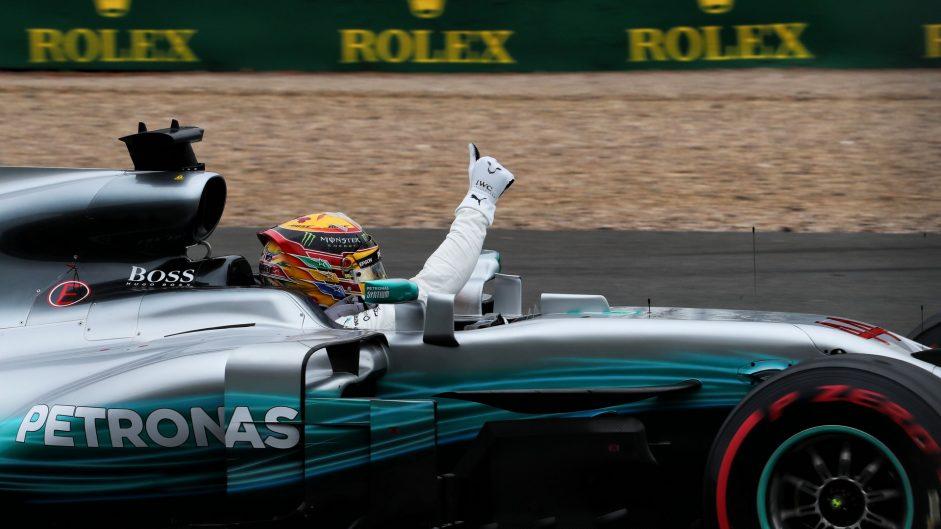 2017 British Grand Prix race result