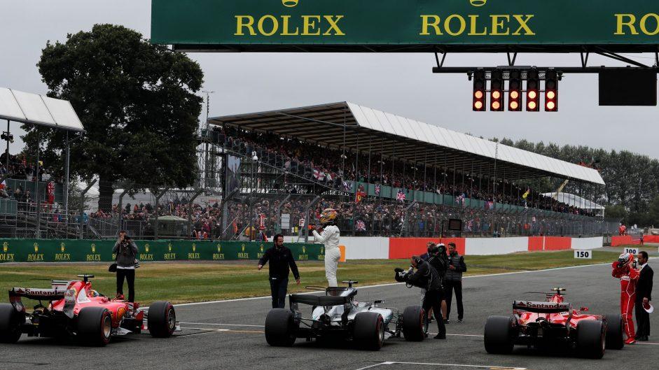 Lewis Hamilton, Mercedes, Silverstone, 2017