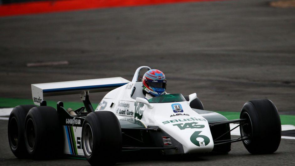 Paul di Resta, Williams-Cosworth FW08B, Silverstone, 2017