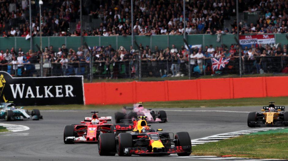Max Verstappen, Red Bull, Silverstone, 2017