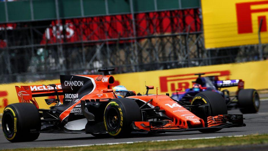 Fernando Alonso, McLaren, Silverstone, 2017