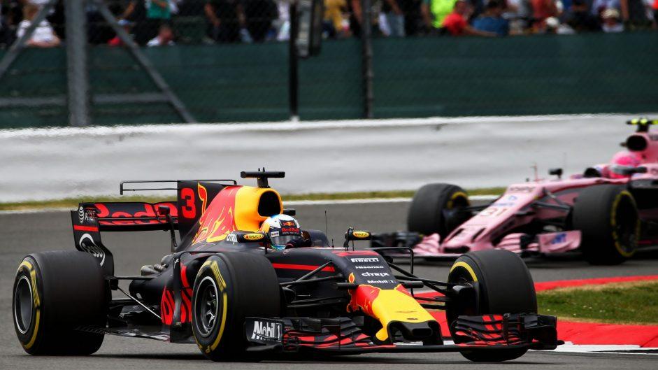 Daniel Ricciardo, Red Bull, Silverstone, 2017