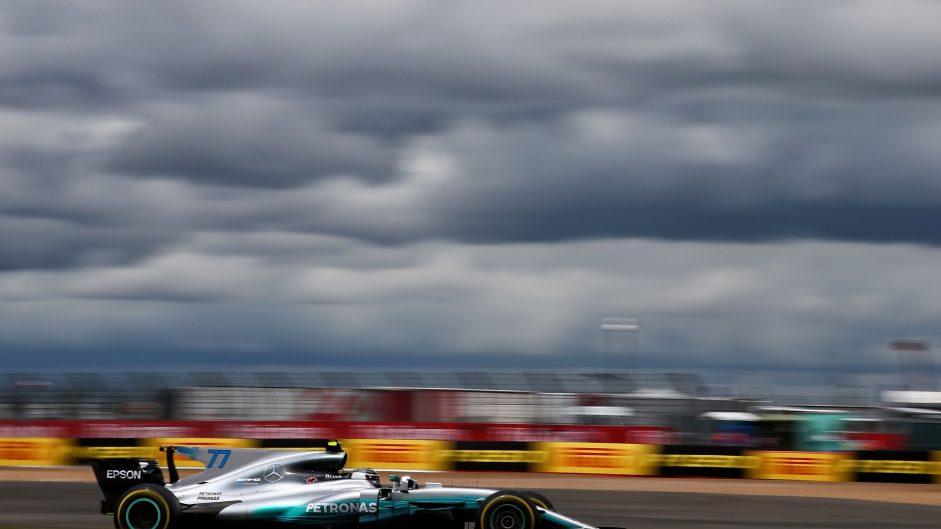 Valtteri Bottas, Mercedes, Silverstone, 2017