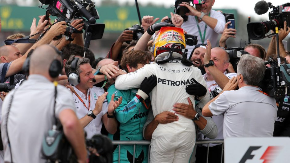 Hamilton hails 'perfect weekend' after British Grand Prix win