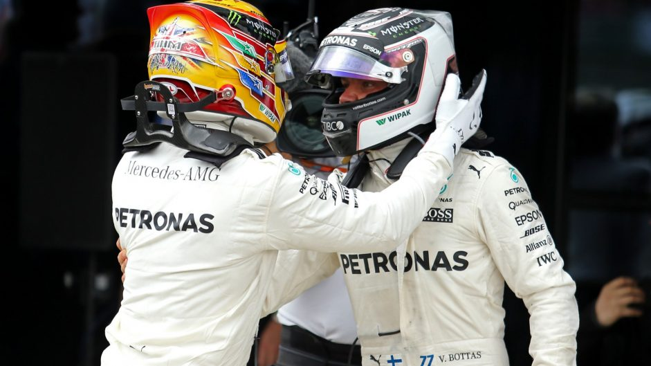 Mercedes take the constructors' title for the fourth year in a row