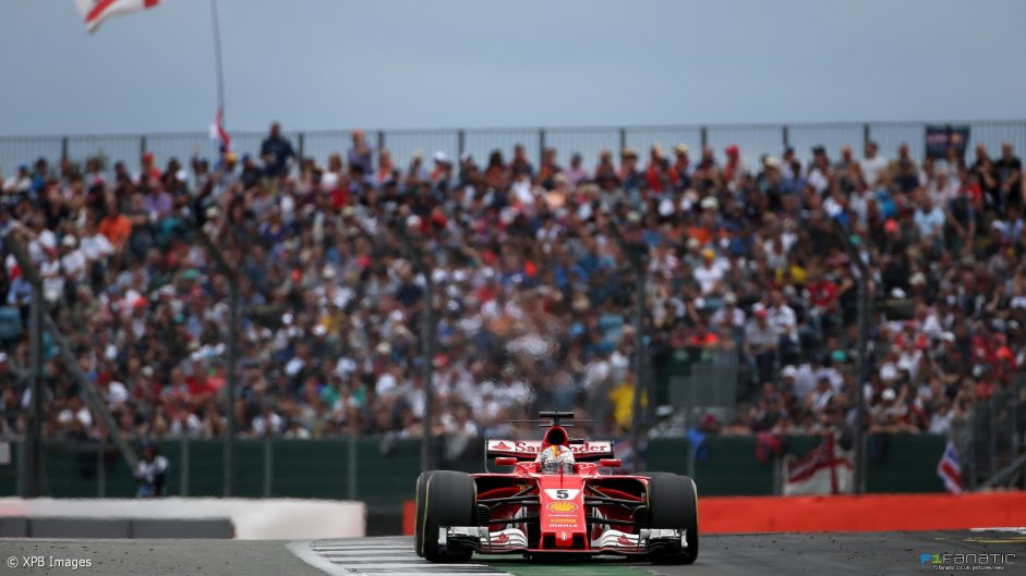 2017 British Grand Prix tyre strategies and pit stops