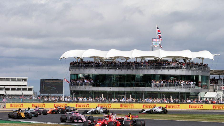 Kimi Raikkonen, Ferrari, Silverstone, 2017