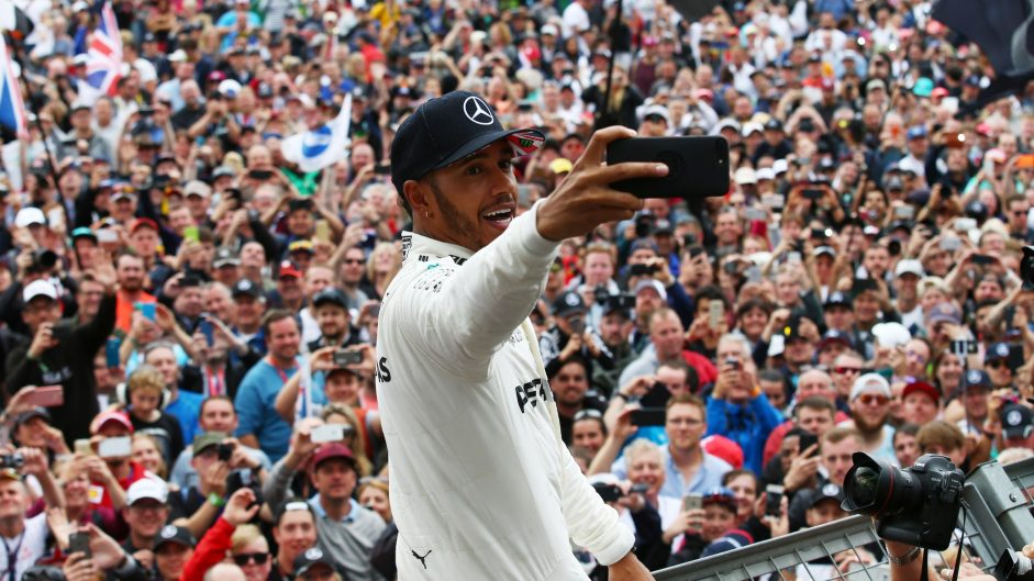 Dominant Hamilton wins Driver of the Weekend