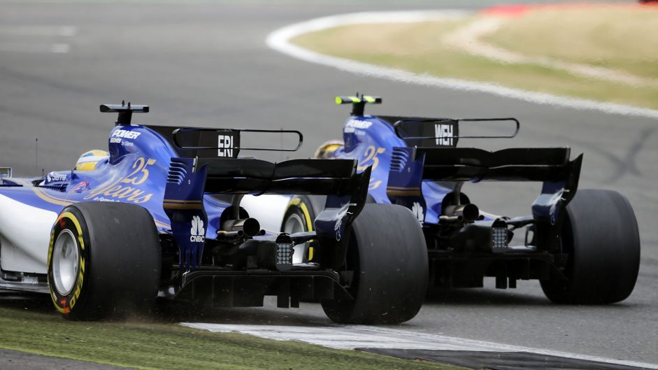 Marcus Ericsson, Sauber, Silverstone, 2017