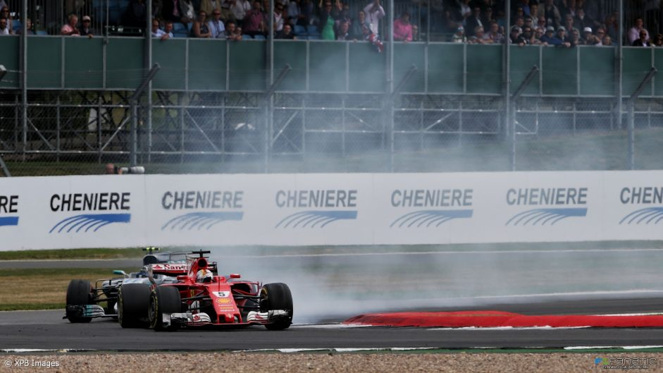 Pirelli says slow puncture caused Vettel's tyre failure