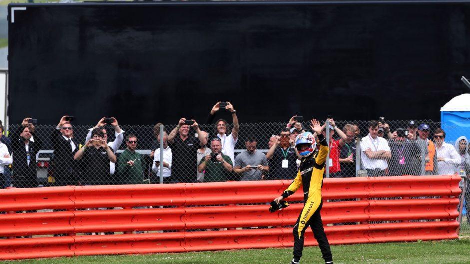 Jolyon Palmer, Renault, Silverstone, 2017