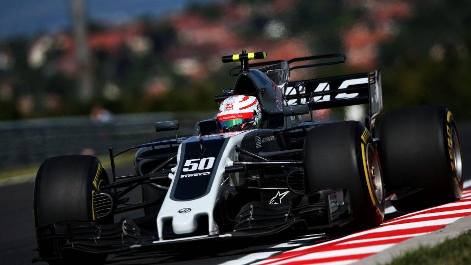 Antonio Giovinazzi, Haas, Hungaroring, 2017