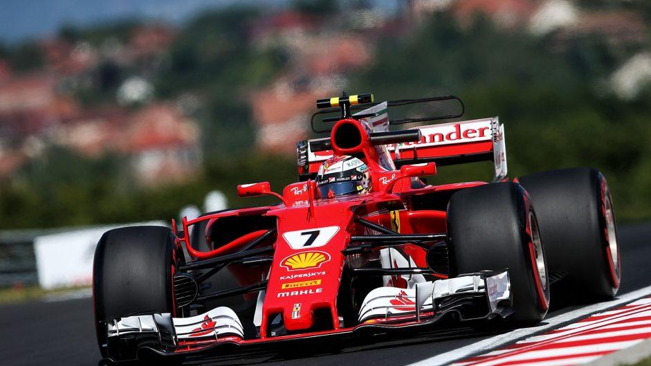 Kimi Raikkonen, Ferrari, Hungaroring, 2017