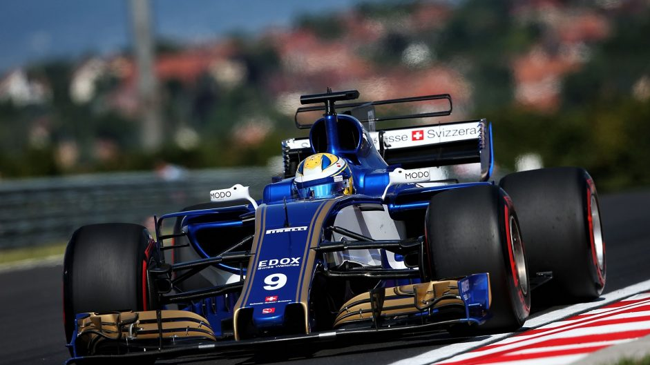 Marcus Ericsson, Sauber, Hungaroring, 2017