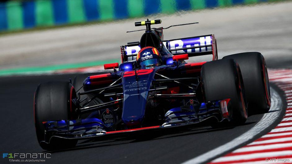 Carlos Sainz Jnr, Toro Rosso, Hungaroring, 2017