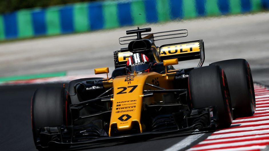 Nico Hulkenberg, Renault, Hungaroring, 2017