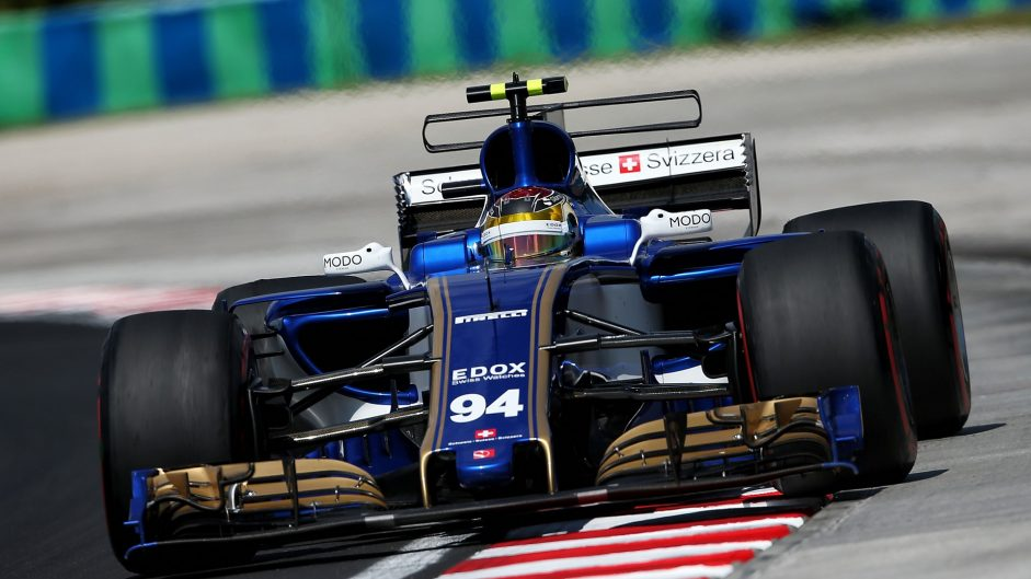 Pascal Wehrlein, Sauber, Hungaroring, 2017