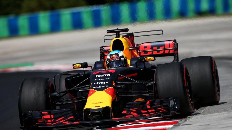 Daniel Ricciardo, Red Bull, Hungaroring, 2017