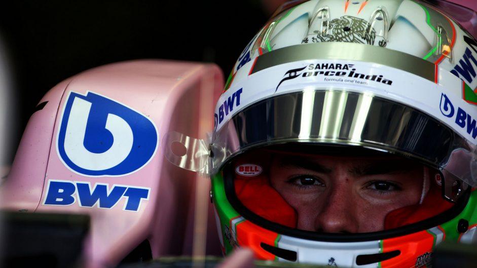 Alfonso Celis, Force India, Hungaroring, 2017